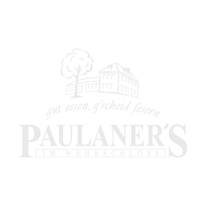 Referenz: Paulaners am Wehrschloss mit Logo