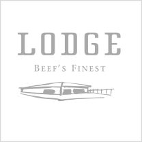Referenz: LODGE mit Logo