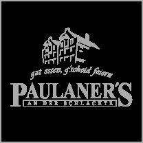 Referenz: Paulaners Schlachte mit Logo