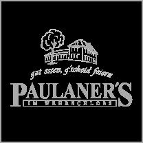 Referenz: Paulaners Wehrschloss mit Logo