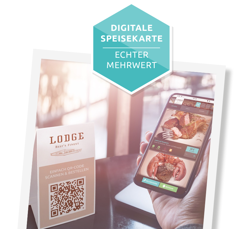digitale Speisekarte von DeliverBee